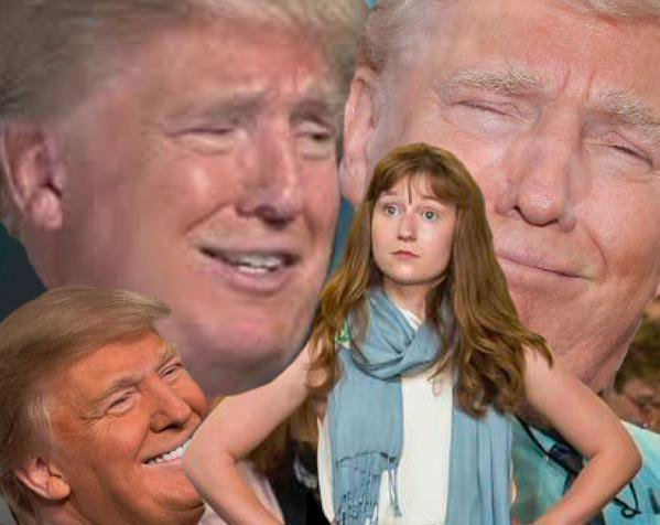 Lauren Batchelder being ridiculed by Donald Trump
