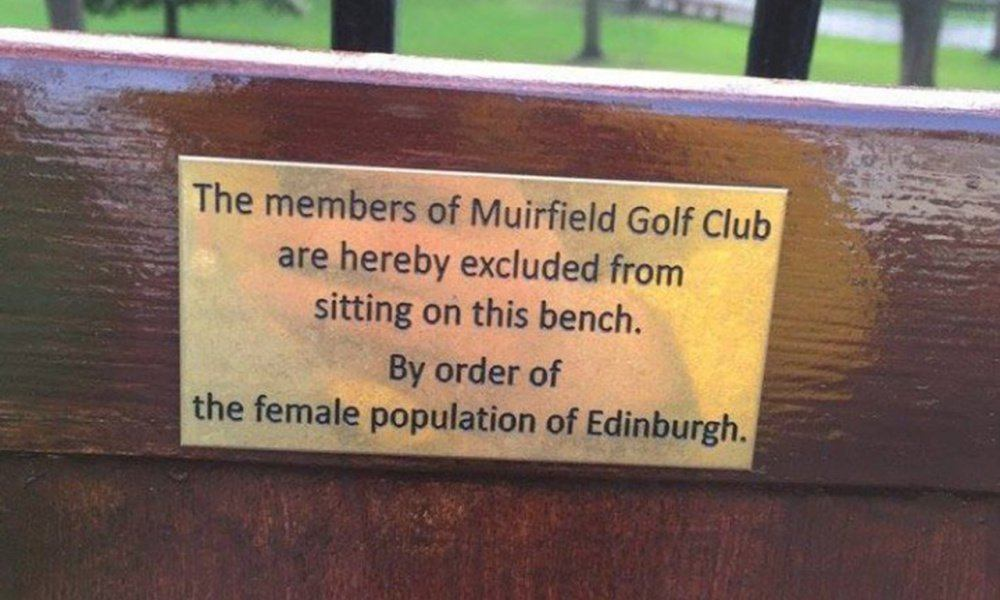 Muirfield Park Bench