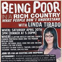 Linda Tirado Promotional Speaking Poster