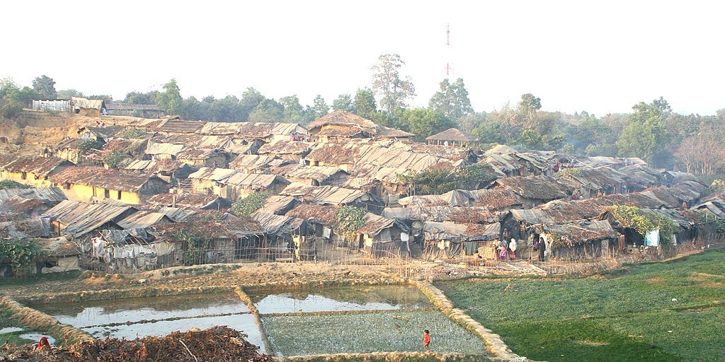 Kutupalong Refugee Camp, Bangladesh