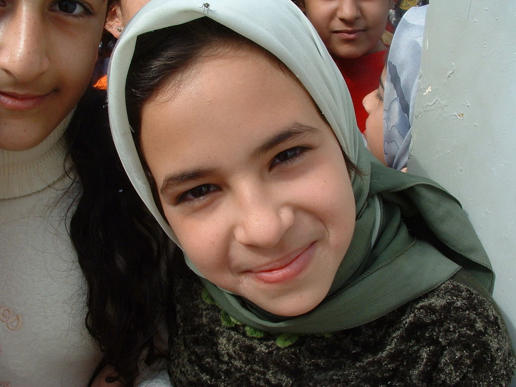 Iraqi Girl Smiling