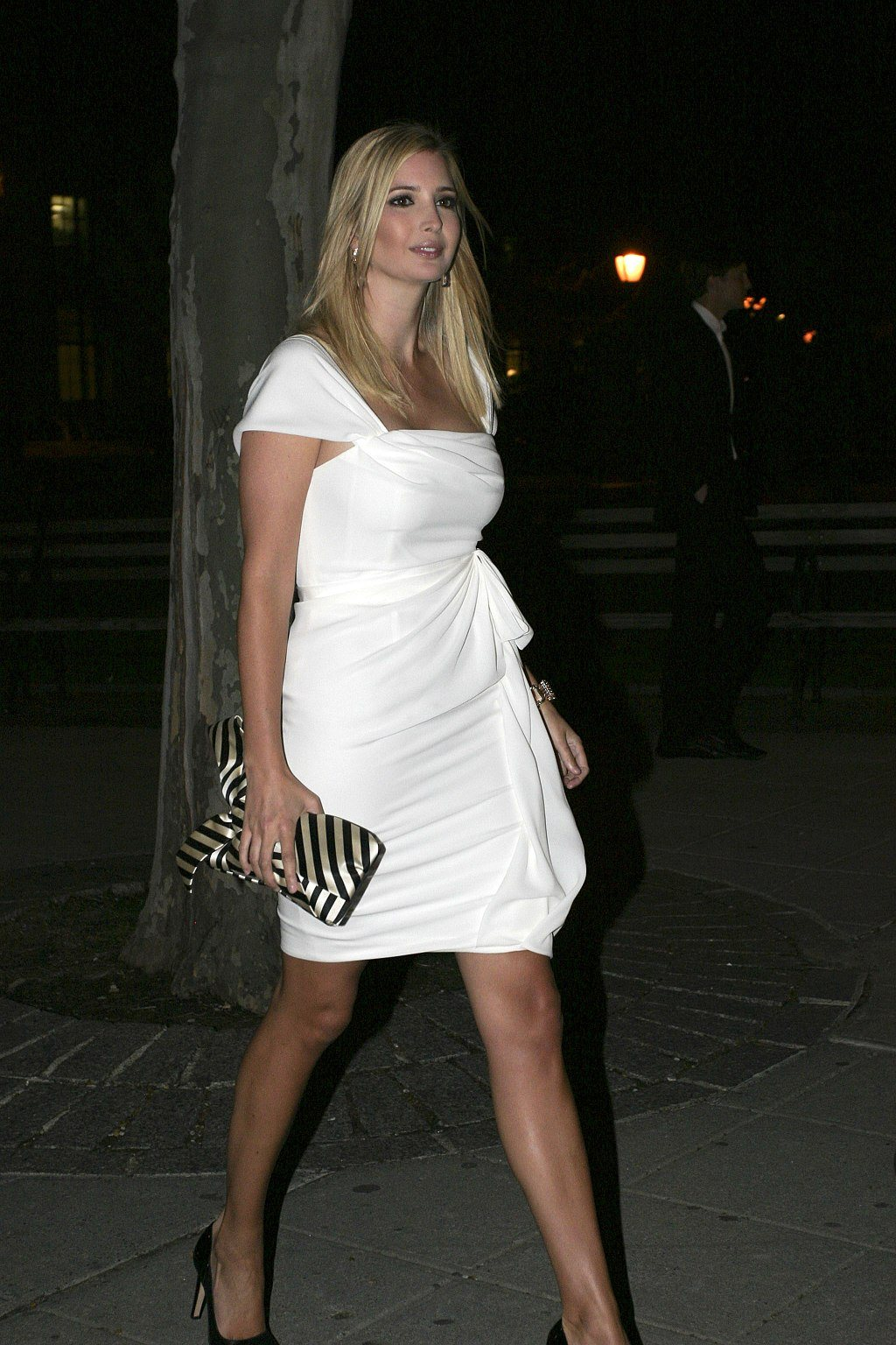 Eastern European decent, tall, blonde, sultry, well endowed, long legged beauty Ivanka Trump