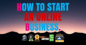 How to start am online business