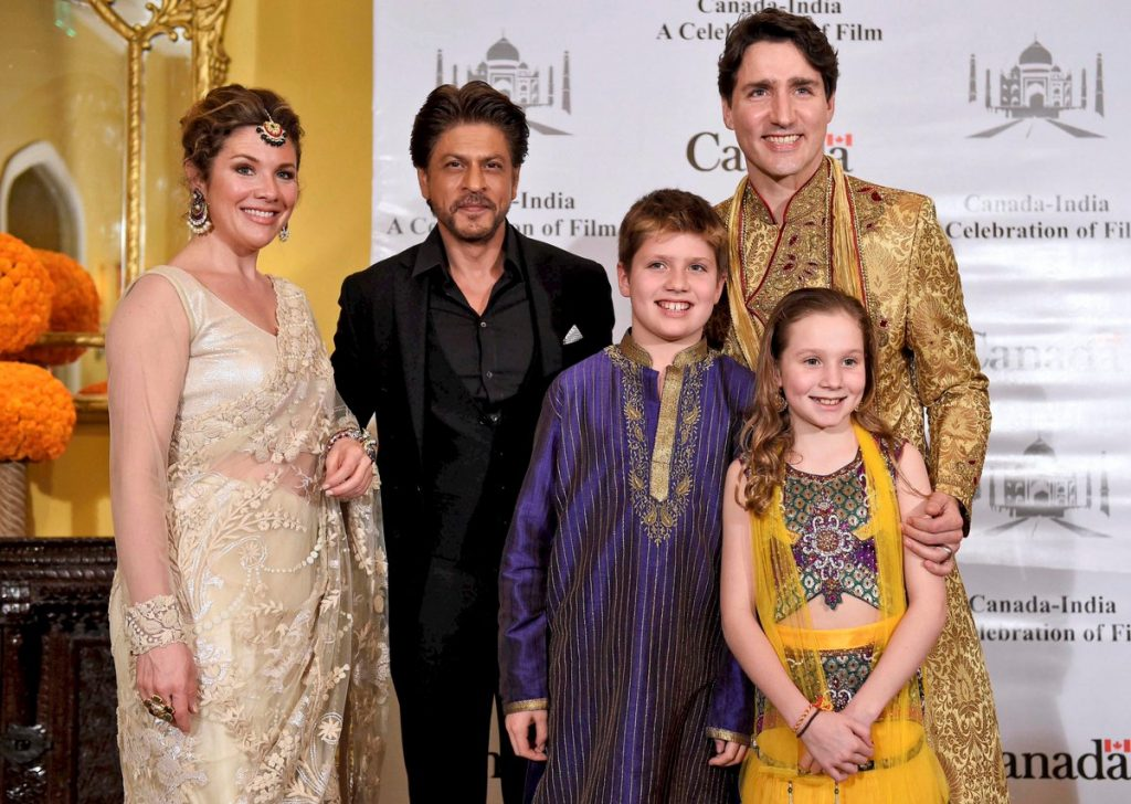 Justin Trudeau Family Outfit Pic