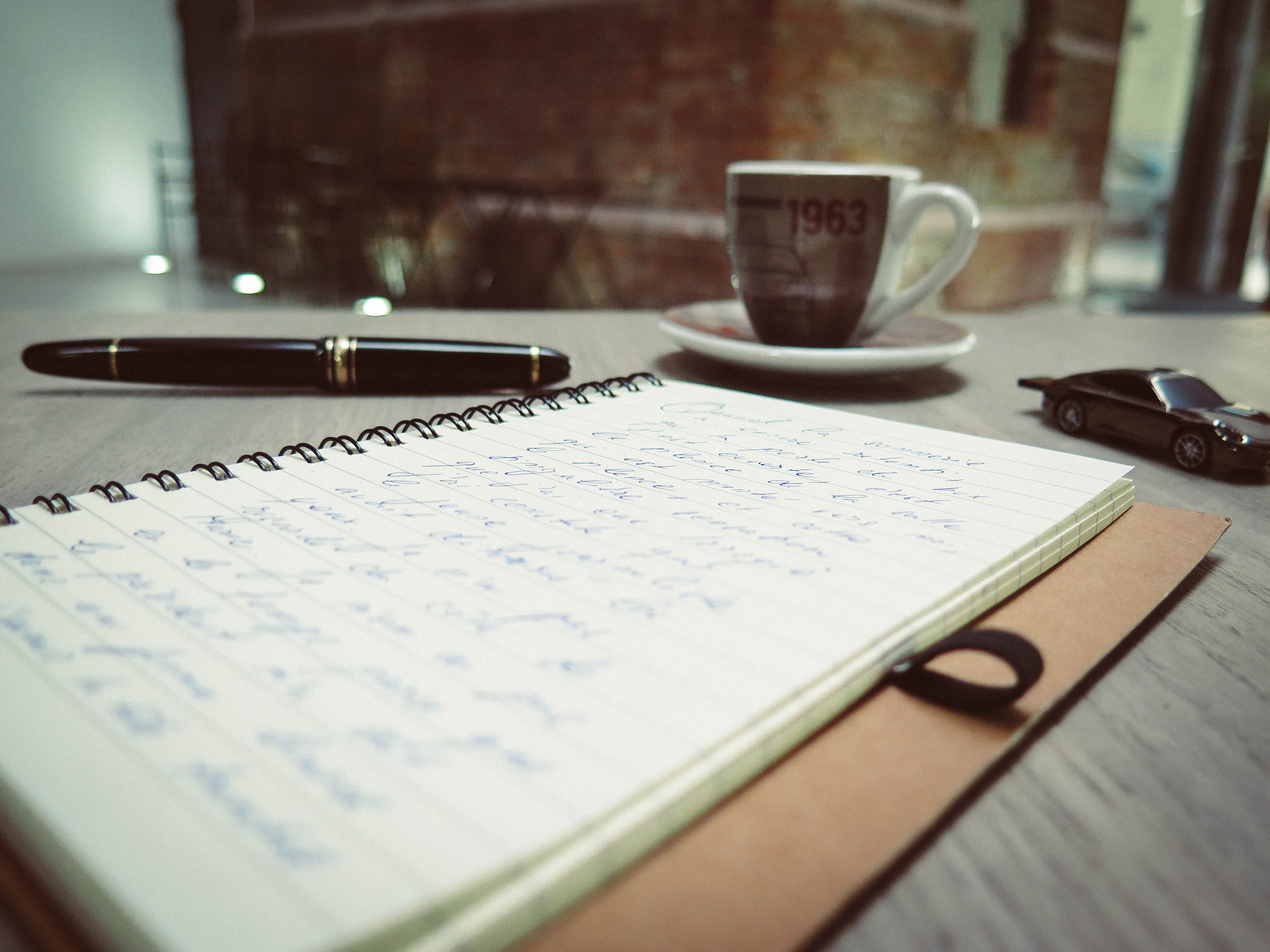 Write your thoughts in a Journal
