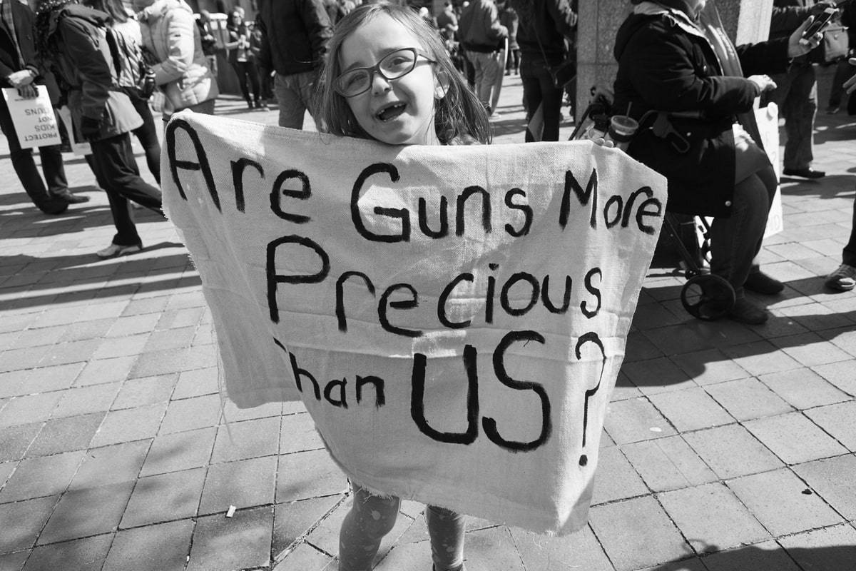 Are guns more precious than us?
