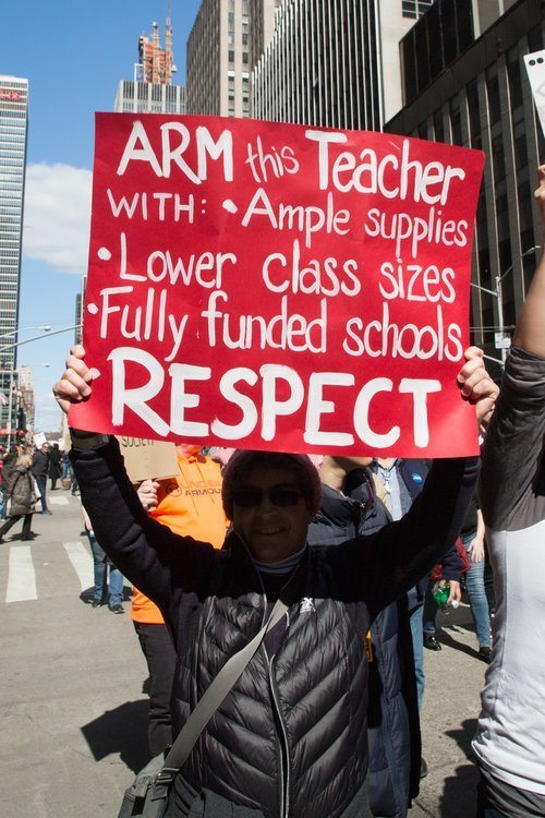 Arm our Teachers