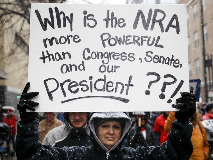 Why is the NRA more Powerful ...