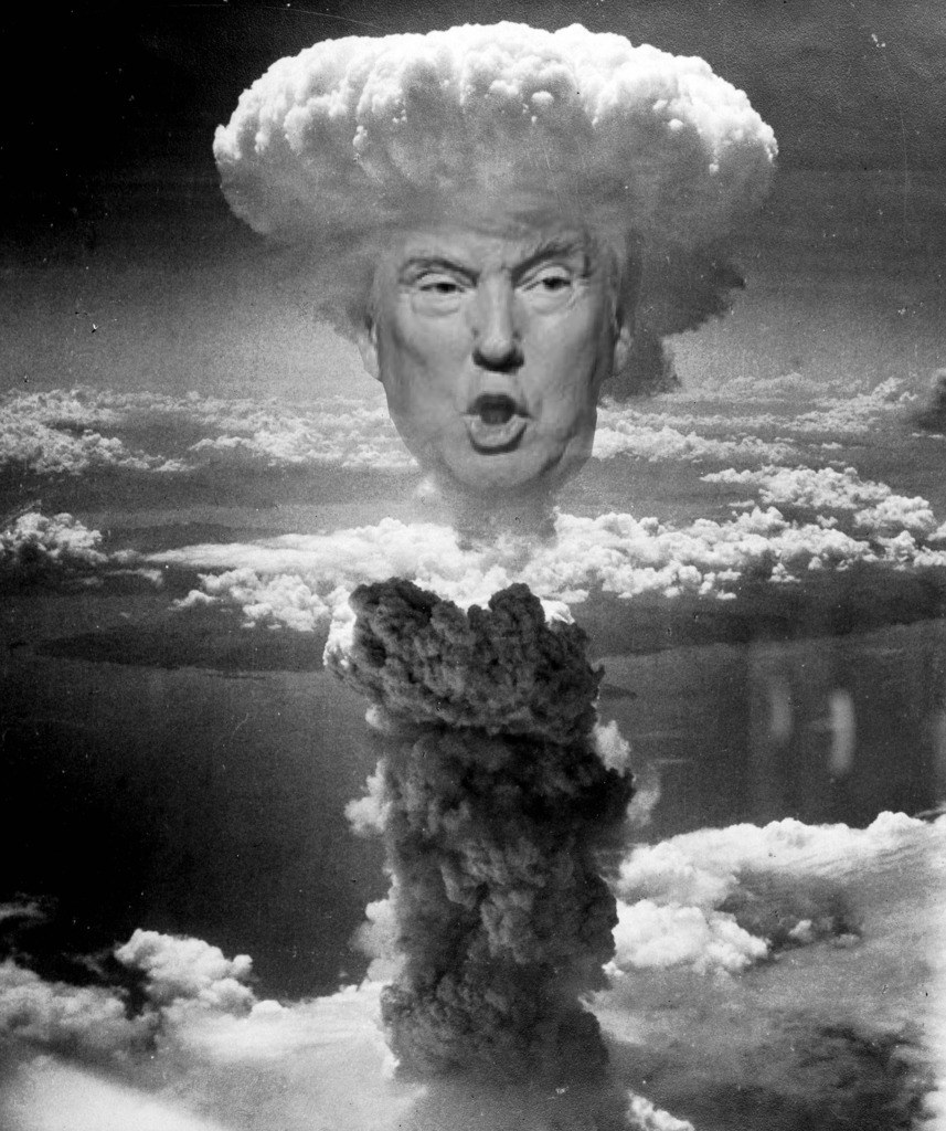 Donald Trump Nuking