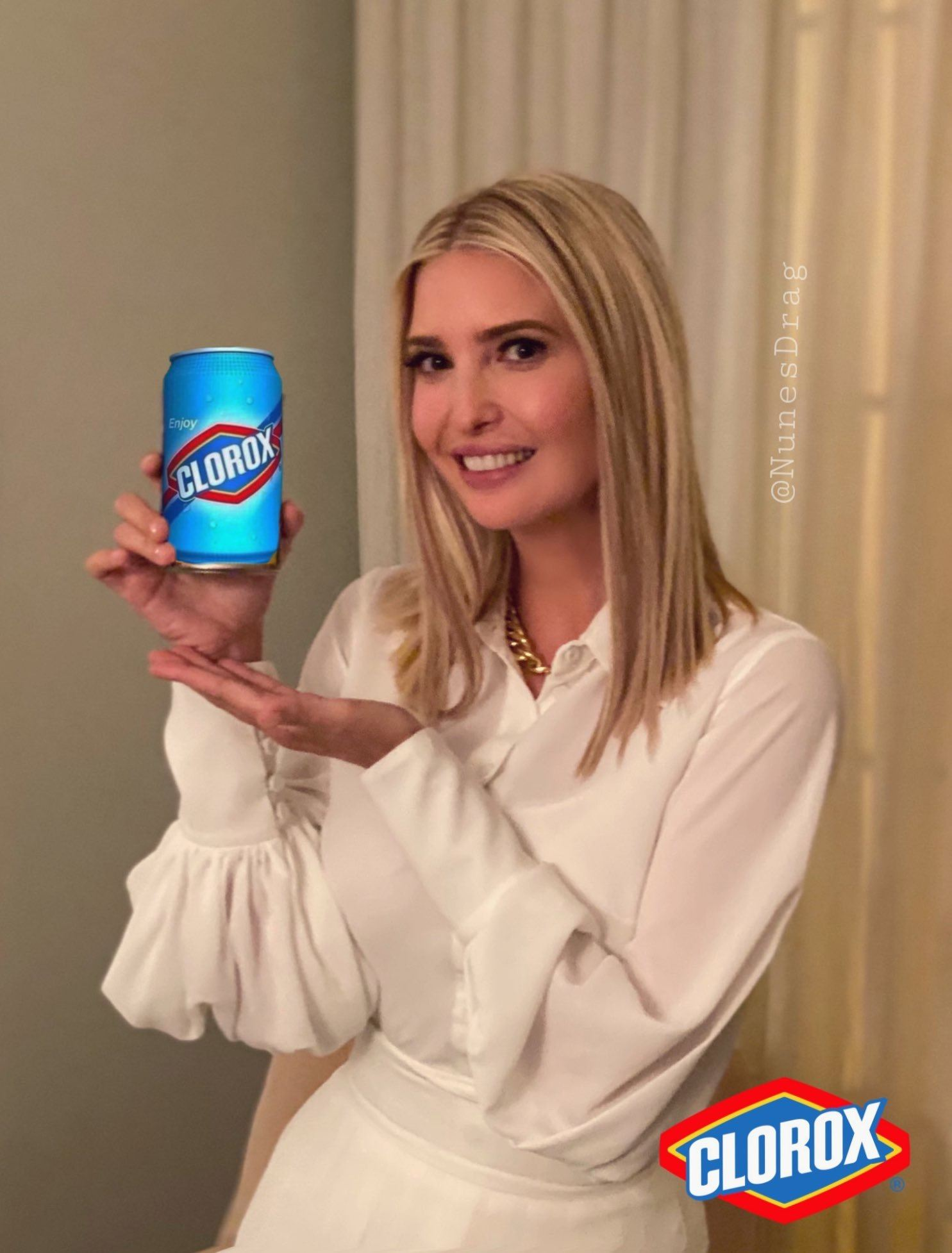 Ivanka Trump - Clorox Disinfectant Ingestion