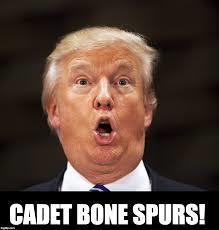 Trump Cadet Bone Spurs