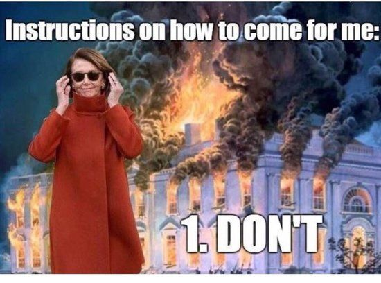 Pelosi Blowing up White House
